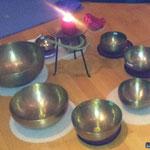 Meditationsabend und lösenden Klänge