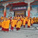 Tanzschüler für Feste in Kathmandu/Nepal