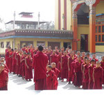 Klosterschüler in Kathmandu/Nepal