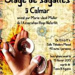 Stage de sagattes - Flyer par Fanny M., danseuse