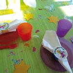 Feenparty Tischdekoration