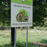 """Ferdinand macht brav Krach und """"beschützt"""" und vor den Bären"""