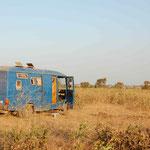 Nachtlager kurz vor Gambia