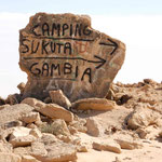 Einen Campingplatz kann man nicht früh genug ankündigen