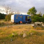 Lagerplatz oberhalb von Le Puy en Velay