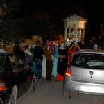 Straßensperre in Sefrou