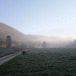 Französische Vorpyrenäen am Morgen