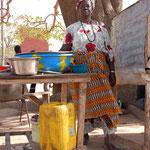 Mittagessen bei Mama Africa
