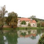 Wasserschloss auf der Krka