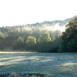 Französosche Vorpyrenäen am Morgen