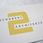 Kunde: schubert2architekten | Signet + Visitenkarten