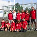 Partille-Cup 2003: Team Gregi&Fränzi: ?, ?, Kim, Fränzi, Sarah, Aline, ?, Denise, Stephanie
