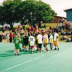 Partille-Cup 2001: Dominique, Darius, Enea, Marco, Christian, Nathanael