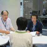 音楽総合学科長・原沢康明先生、村井満恵先生(いずれも音楽療法コース)