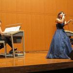ミュージカルコースの学生がゲスト出演。