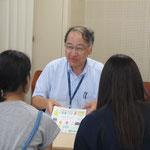 音楽療法コース:原沢康明先生(音楽総合学科長)