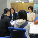 (左)音楽教員養成コースの木村満壽美先生、(右)同 髙松晃子先生