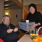 Spendenaufruf - DANKESCHÖN, Weihnachtsfeier, Gemeinde und VS, Verein Groß Laasch Flexibel, Foto Andrea Weinke