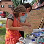 Foto Andrea Weinke / Fest im Pfarrgarten / Gemeinde und Kirche