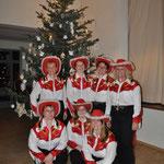 Unterhaltungsprogramm durch Groß Laascher Line Dancer, Weihnachtsfeier, Gemeinde und VS, Verein Groß Laasch Flexibel, Foto Andrea Weinke