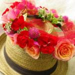 ウェディング 花かんむり