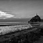Grande Marée au Mont st Michel