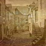 Cour du foyer Villedieu les Poêles