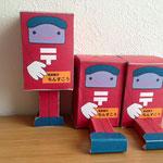 歌津のポストくんパッケージデザイン