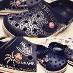 crocs夏休みイベント参加 「お買い上げのお客様へイラストのプレゼント」