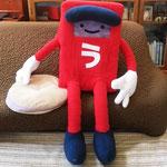 等身大人形 うたつのポストくんキャラクターデザインと制作