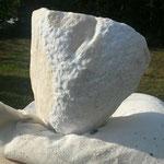 Carrara-Marmor, Rohling