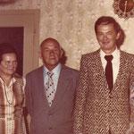 Hans-Jörg und seine Ehefrau Ida (rechts) übernehemn 1976 den Betrieb und führen ihn nun gemeinsam weiter.