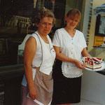 Bibiana, die jüngste der drei Töchter und ihre Mutter Ida waren im Verkauf jahrelang ein eingespieltes Team.