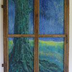 -10- Der Baum- 80*60*2 LW im alten Fensterkreuz 2016