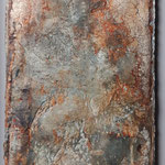 50x27 cm, Seidelbastpapier, schwebend gerahmt, 2019