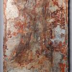 50x27cm, Seidelbastpapier, schwebend gerahmt, 2019