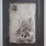 -50-  Intonaco auf Seidelbastpaper ca. 40x30, 2019