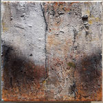 -58- kleine Bäume 20x20x10cm, canvas, 2019