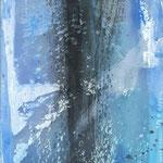 -21- Transluzente Malerei auf Schleiernessel 120*50 2016