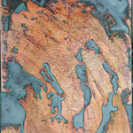 -44- Die Welt hat sich verschoben - 140x100x4,5cm - canvas- 2020