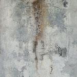 Mur Patiné  auf Holz 150*50*3,5  2018