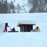 AKUT Sportverein Snowboard Kurs Axamer Lizum