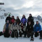 AKUT Schneeschuhwanderung Birgitz Kopfl 2013