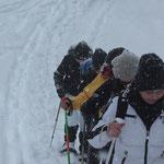 AKUT Schneeschuhwanderung Birgitz Kopfl 2012