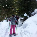 AKUT Schneeschuhwanderung Birgitz Kopfl 2014