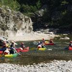 Canoë-kayak sur l'Eyrieux