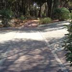 Rampe d'accès accessible aux personnes handicapées - © accesame / S. Ruy