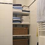 Aménagement de rangements salle de bain - © accesame / S. Ruy