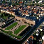 Chateau des Rohan et ville de Saverne
