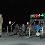 自衛隊の音楽隊演奏